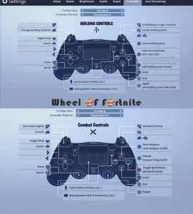 PS4 Fortnite Controller Setup