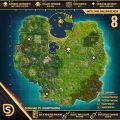 Fortnite Week 8 Challenges Cheat Sheet