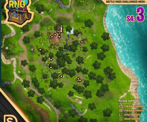 Season 4 Week 3 – Chest Locations – Lonely Lodge