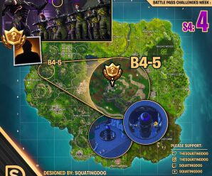 Season 4 Week 4 – Blockbuster Challenge Map