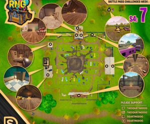 Season 4 Week 7 – Chest Locations – Risky Reels