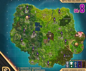 Season 4 – Week 8 Cheat Sheet