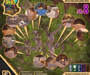 Season 4 Week 8 – Chest Locations – Salty Springs