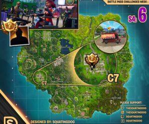 Season 4 Week 6 – Blockbuster Challenge Map