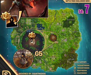 Season 4 Week 7 – Blockbuster Challenge Map