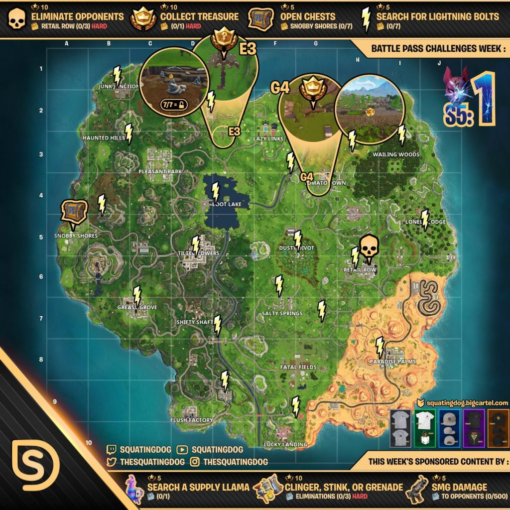 Fortnite-Challenge-Season-5-Week-1