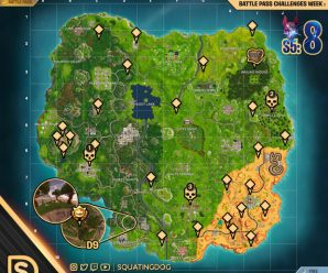 Season 5 – Week 8 Challenges