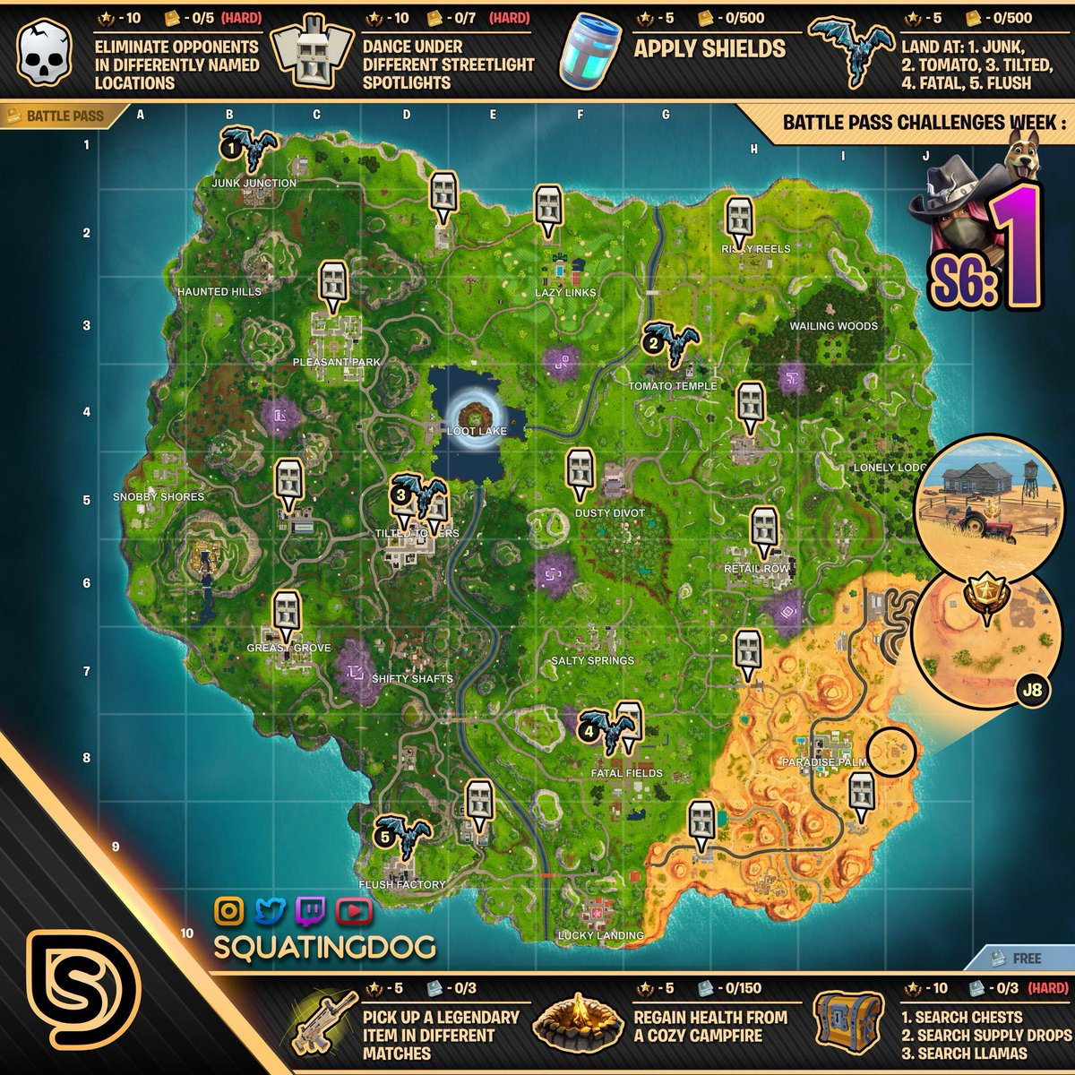 Fortnite-Challenge-Season-6-Week-1