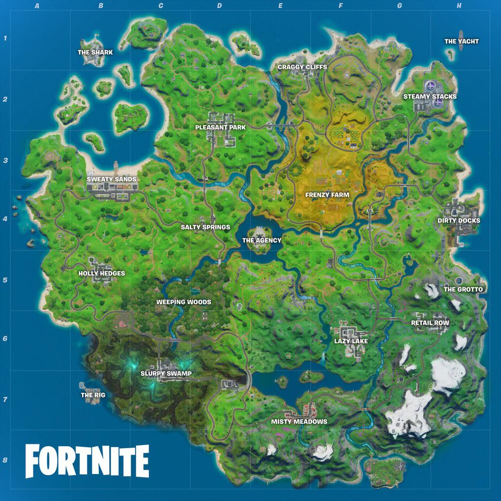Fortnite Map Chapter 2